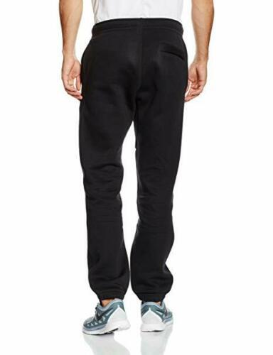Nike-Hombre-Club-Pantalones-Pantalon-de-Chandal-Polar-Sudor-Negro-Gris-Navy-M-XL miniatura 4