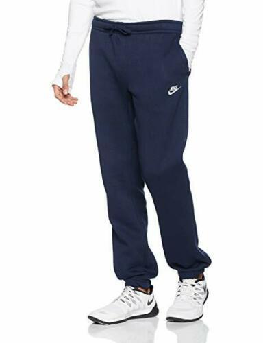 shop genuine shoes buying now Details zu Nike Herren Club Hose Fleece Jogginghose Sweat Schwarz Grau  Marineblau M Groß XL