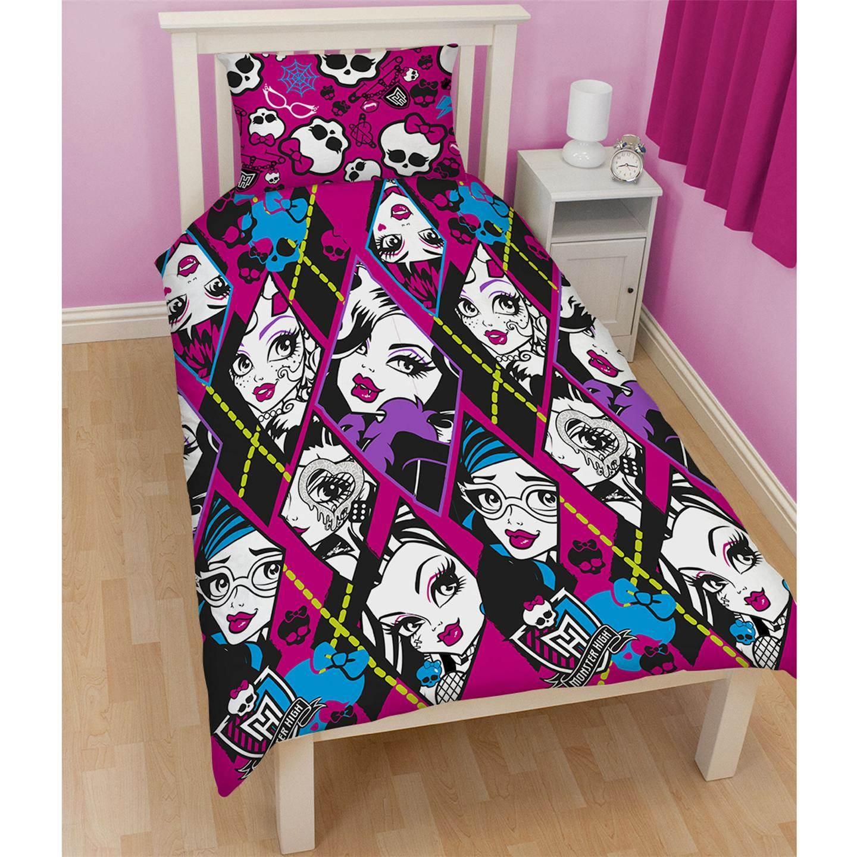 Disney e personaggio copripiumino per letto singolo set bambini biancheria da ebay - Biancheria letto disney ...