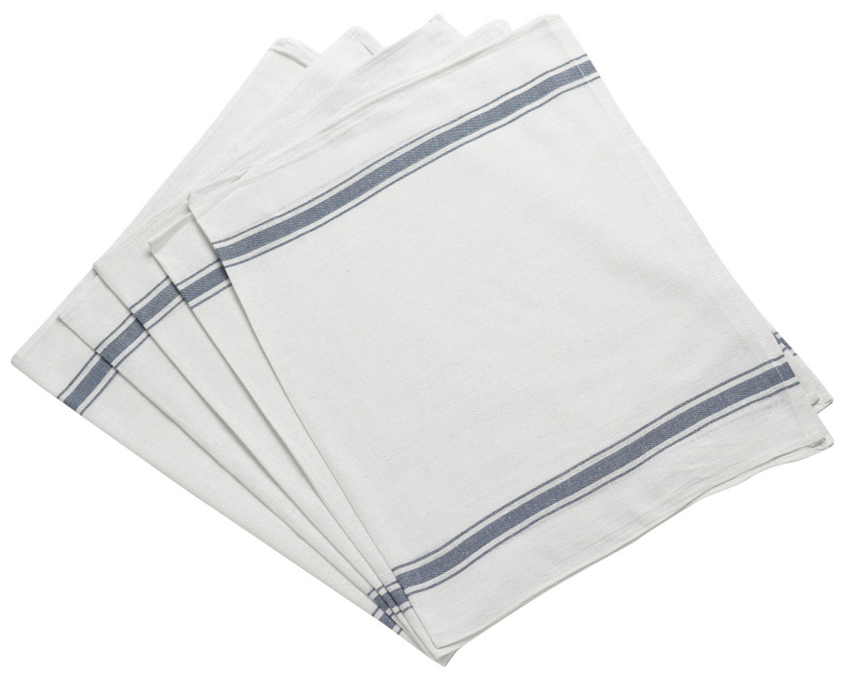 Pack Of 100 Cotton Kitchen Cleaning Tea Towels Absorbent Catering Glass Cloths Ebay