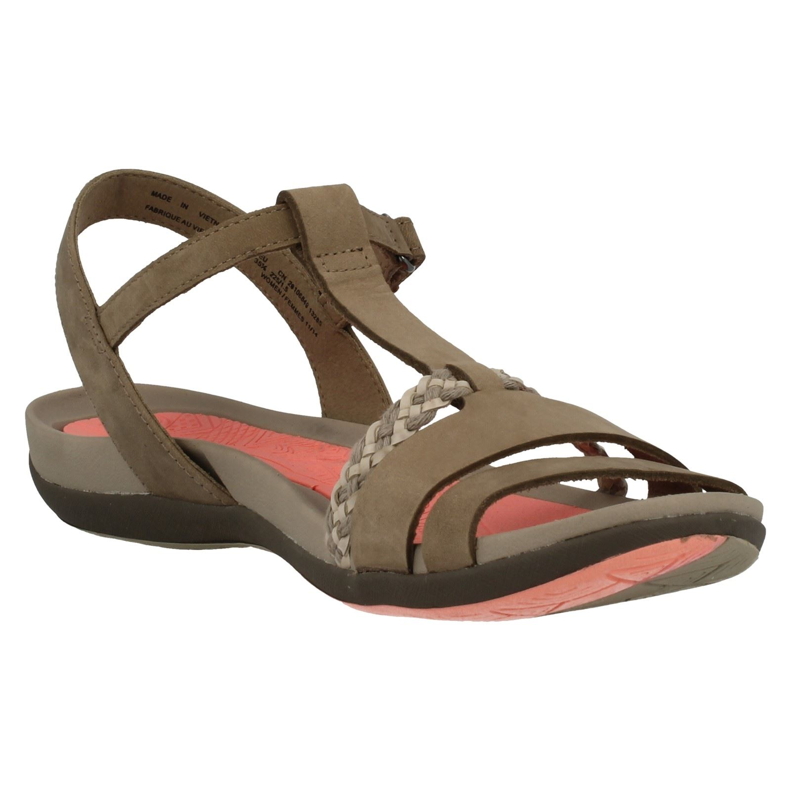 3472eb8a3a94 Ladies-Clarks-Casual-Sandals-Tealite-Grace thumbnail 65
