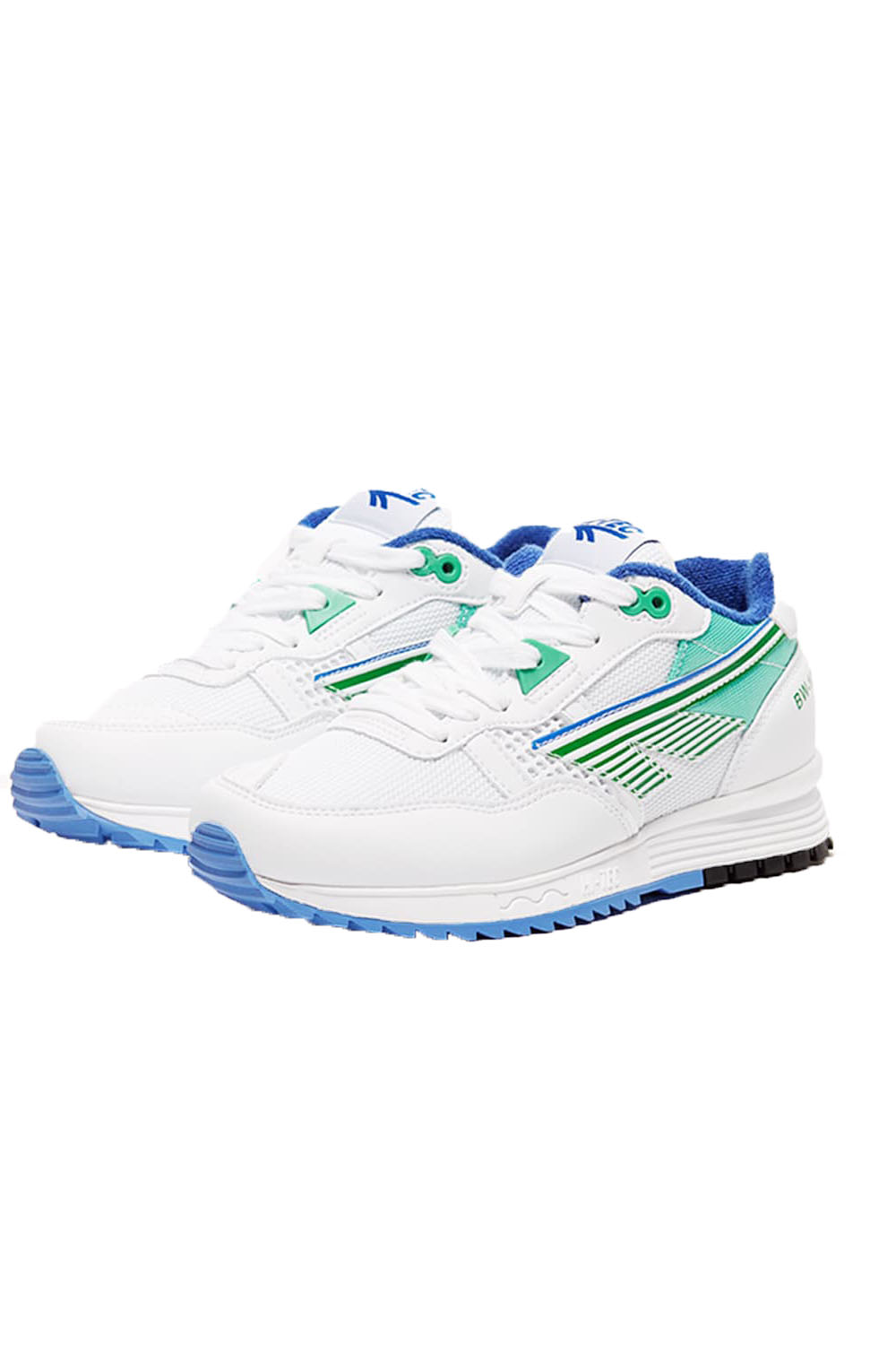 Hi-Tec-Unisex-Badwater-146-Retro-Trainers-Lace-Up-Running-Sport-Low-Top-Sneakers thumbnail 4