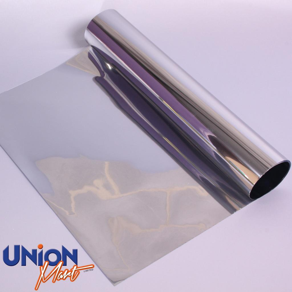 One way reflective mirror mirrored window film tint for Window tint film