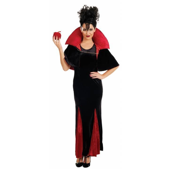 Deluxe Queen Of Evil Vampiress Halloween Ladies Plus Size Fancy