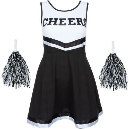 Deguisement-de-Pom-Pom-Girl-High-School-Musical-Costume-Uniforme-Pompons