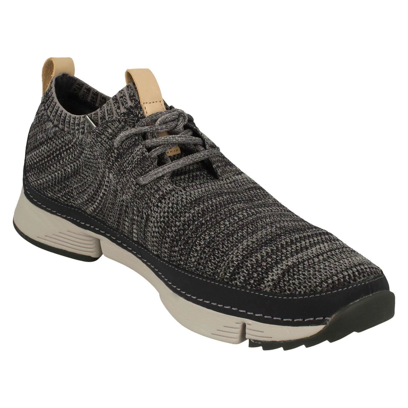 Mens-Clarks-Casual-Lace-Up-Trainers-Tri-Native thumbnail 4