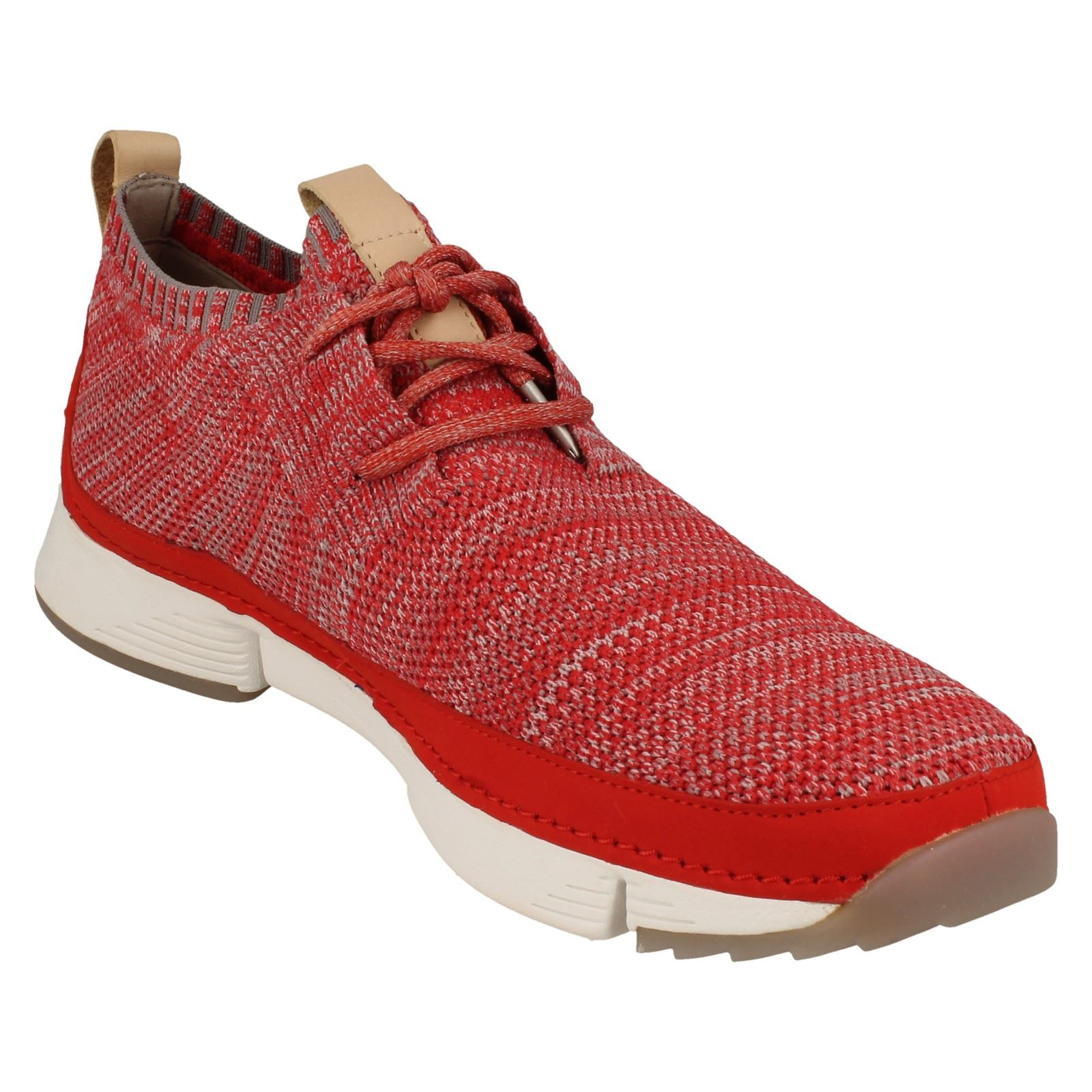 Mens-Clarks-Casual-Lace-Up-Trainers-Tri-Native thumbnail 19