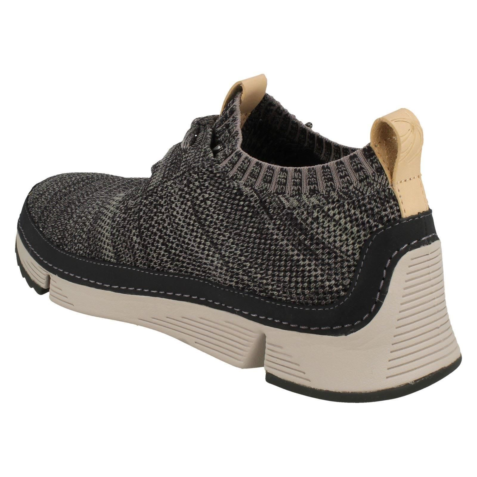 Mens-Clarks-Casual-Lace-Up-Trainers-Tri-Native thumbnail 9