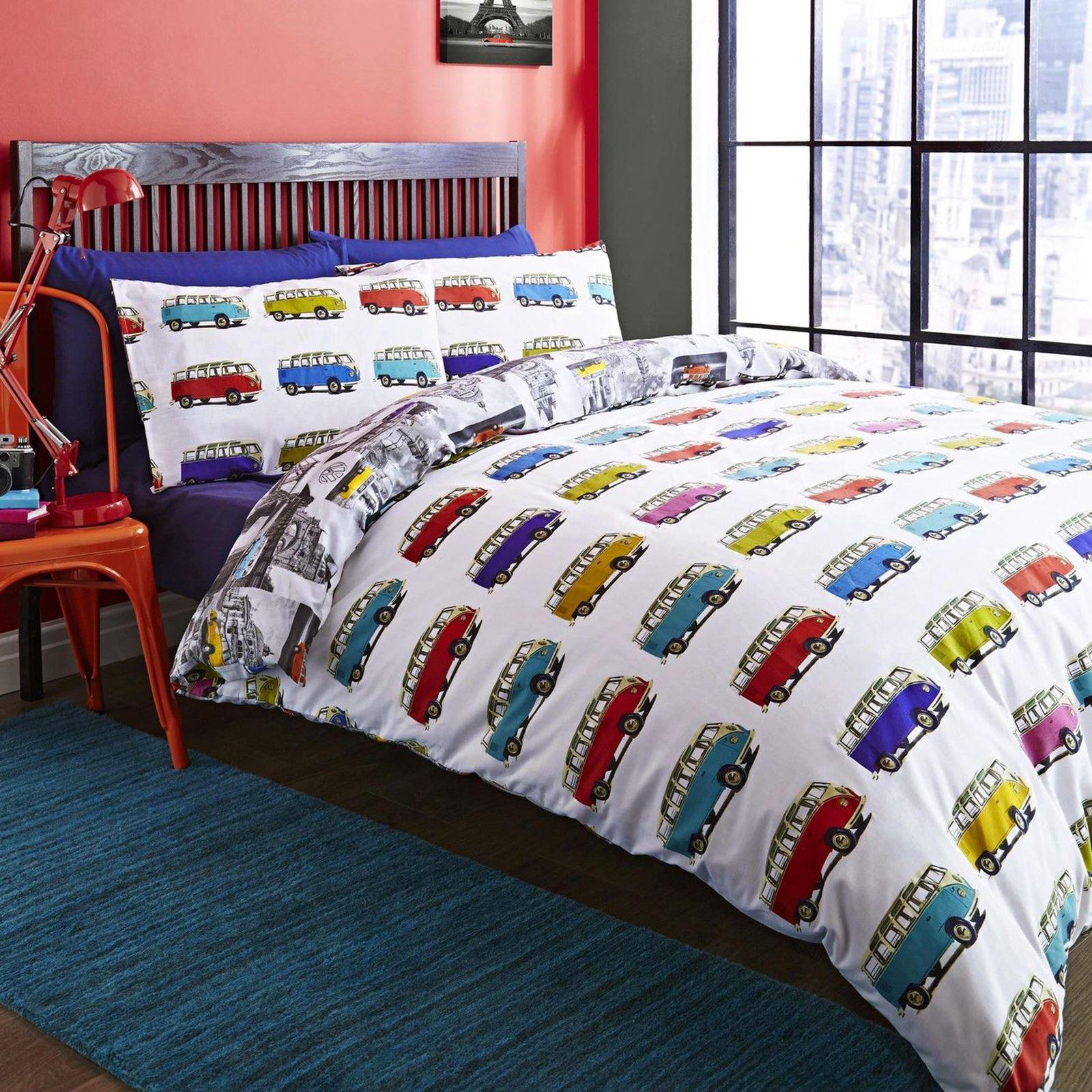 Indexbild 166 - Teenager Bettwäsche Sets - Einzel / Doppelbett Bettwäsche Jungen Musik Graffiti