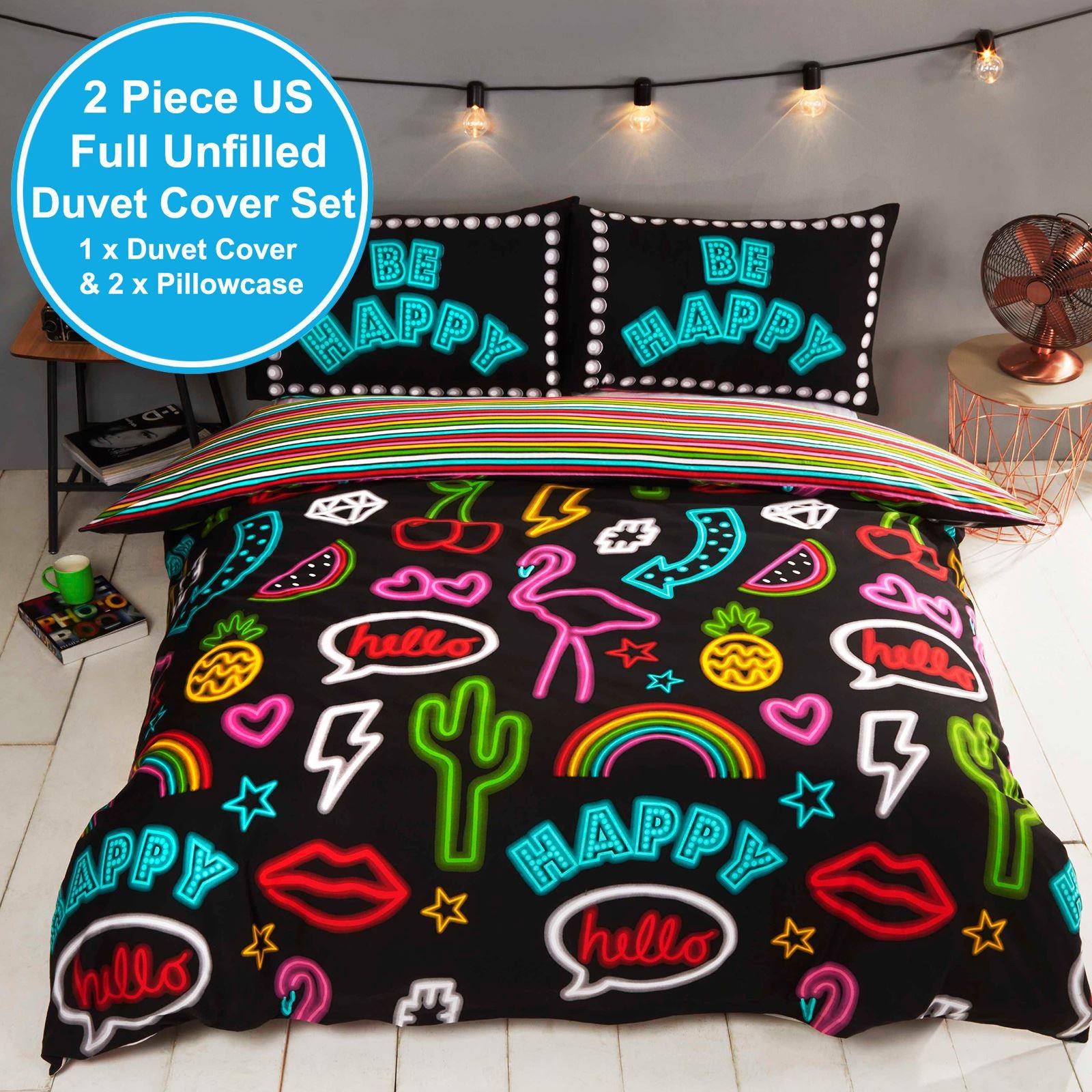 Indexbild 15 - Teenager Bettwäsche Sets - Einzel / Doppelbett Bettwäsche Jungen Musik Graffiti