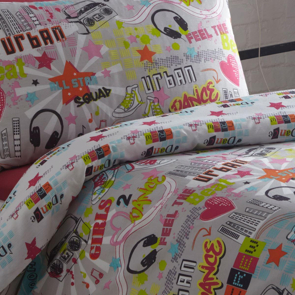 Indexbild 24 - Teenager Bettwäsche Sets - Einzel / Doppelbett Bettwäsche Jungen Musik Graffiti