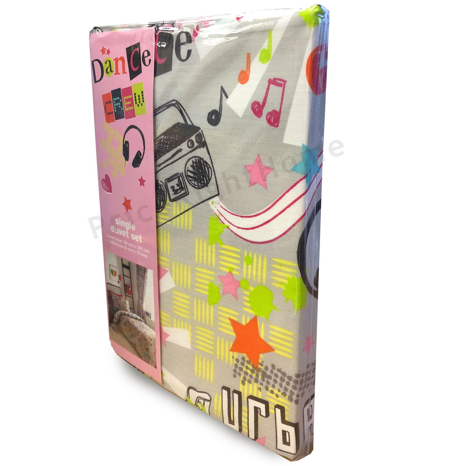 Indexbild 25 - Teenager Bettwäsche Sets - Einzel / Doppelbett Bettwäsche Jungen Musik Graffiti
