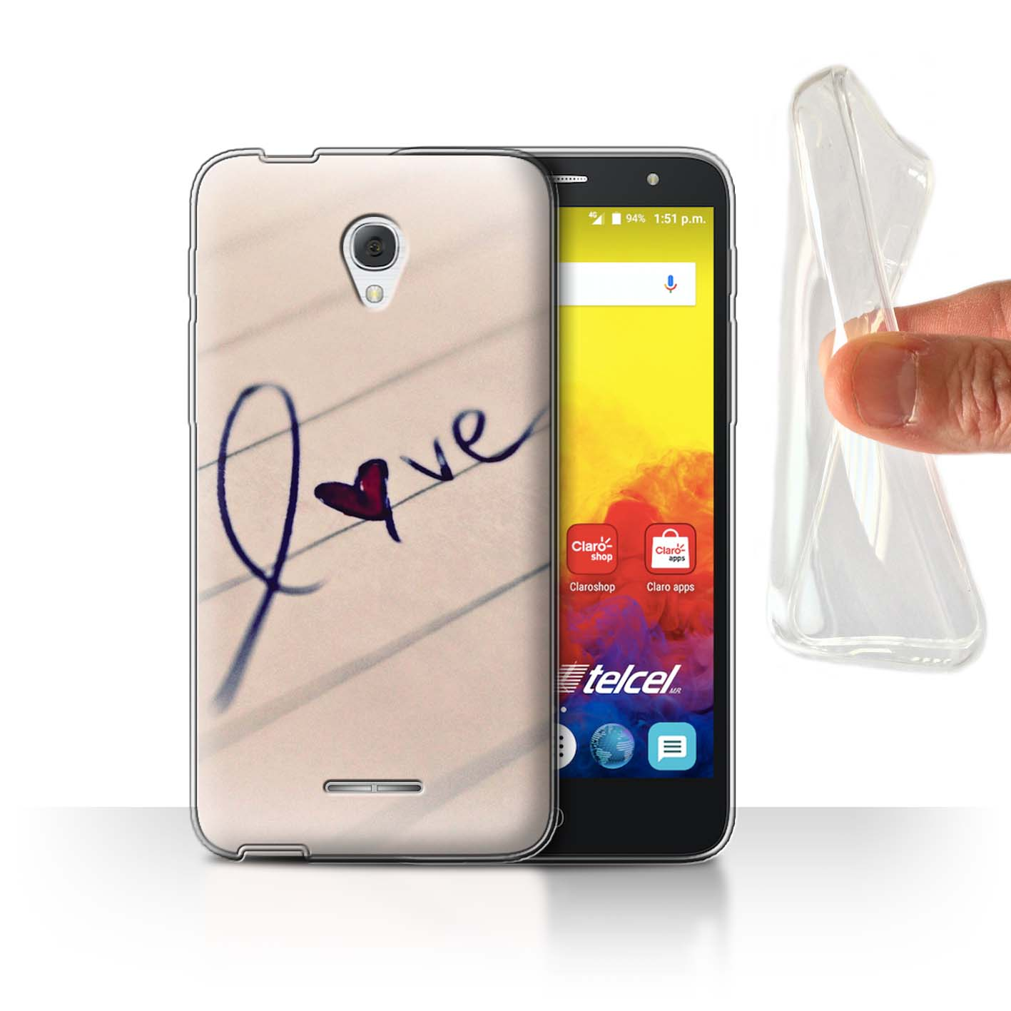 STUFF4-Gel-TPU-etui-pour-telePhone-pour-Alcatel-Pop-4-5-034-You-And-Me-Couples