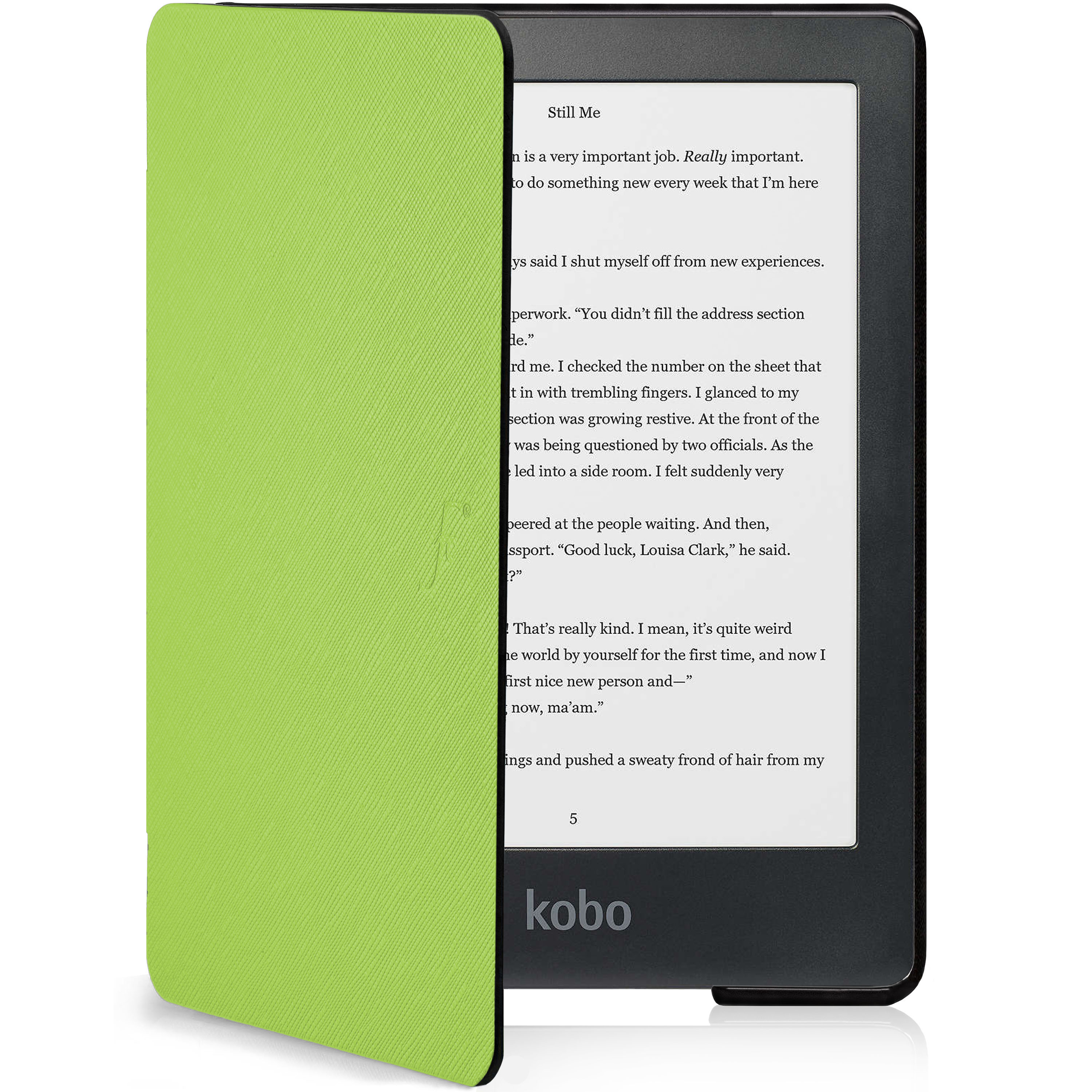 Strap kwmobile Case Compatible with Kobo Clara HD Math /& Physics Formulas White//Black PU Leather Cover with Magnetic Closure Front Pocket