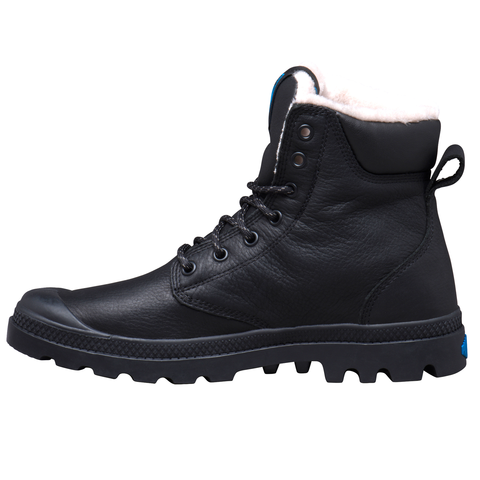 thumbnail 5 - Palladium Mens Pampa Sport Cuff Waterproof Suede Leather Shoe Wool Lined Boots