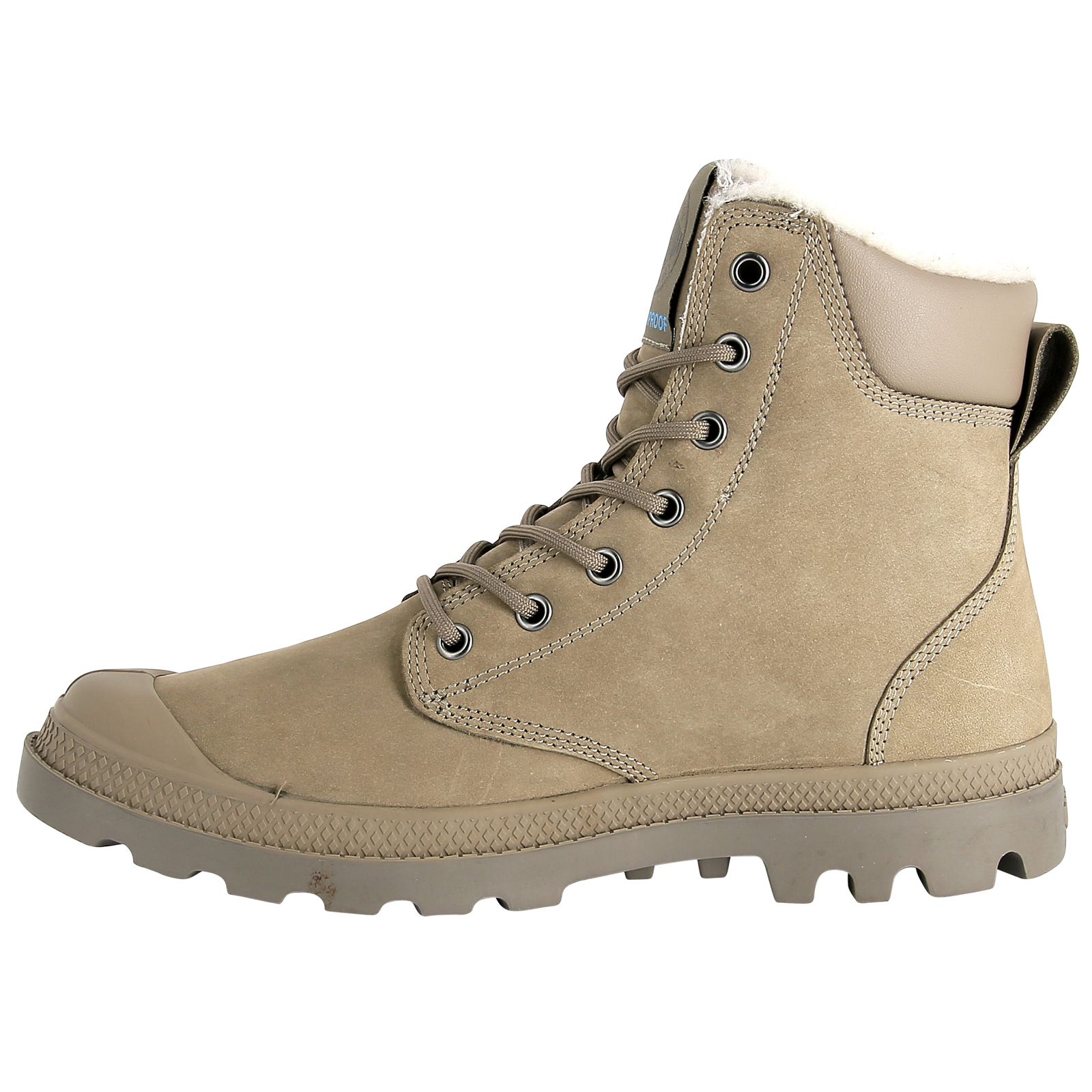thumbnail 30 - Palladium Mens Pampa Sport Cuff Waterproof Suede Leather Shoe Wool Lined Boots