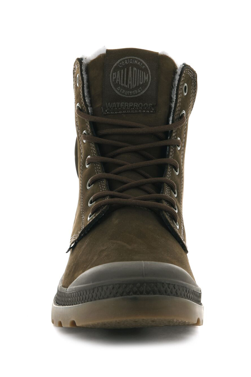 thumbnail 35 - Palladium Mens Pampa Sport Cuff Waterproof Suede Leather Shoe Wool Lined Boots