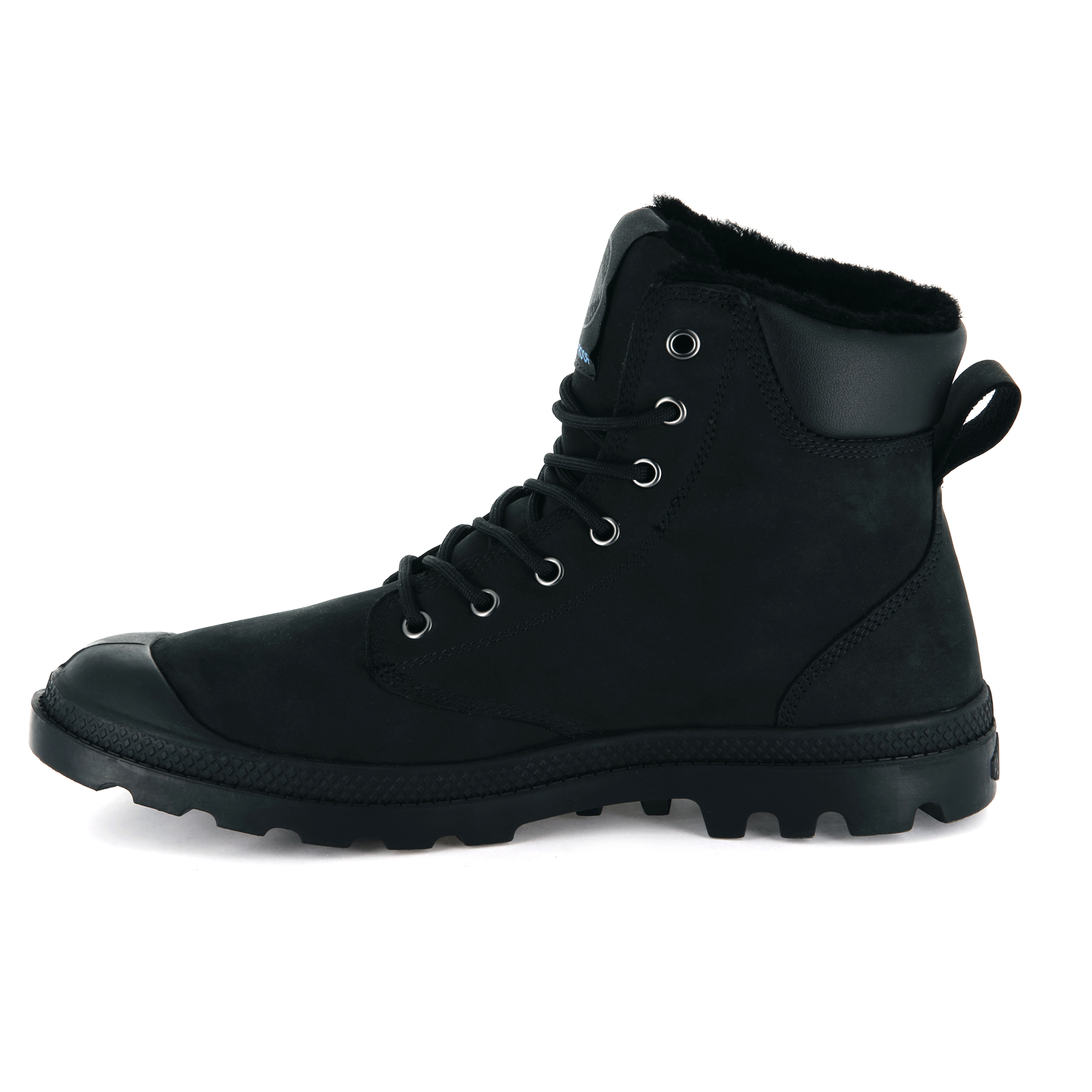 thumbnail 8 - Palladium Mens Pampa Sport Cuff Waterproof Suede Leather Shoe Wool Lined Boots
