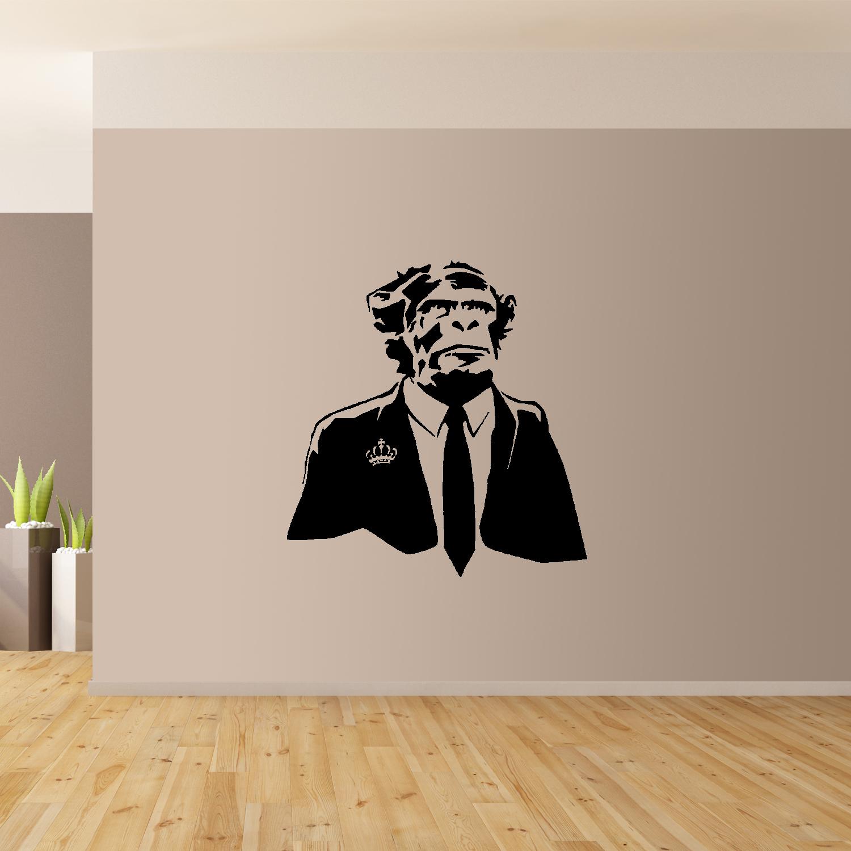 Banksy-Scimpanze-Da-Parete-Arte-Gigante-Adesivo-Murale-Grafico-Arte-Da-Parete