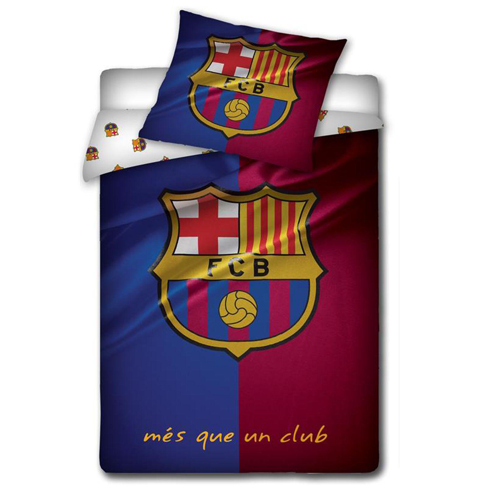 Official Fc Barcelona Duvet Cover Sets Bedding Bedroom Football New
