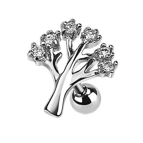 Tragus-Piercing-oreille-Bijoux-cartilage-helix-Piercing-arbre-de-la-vie-cristaux