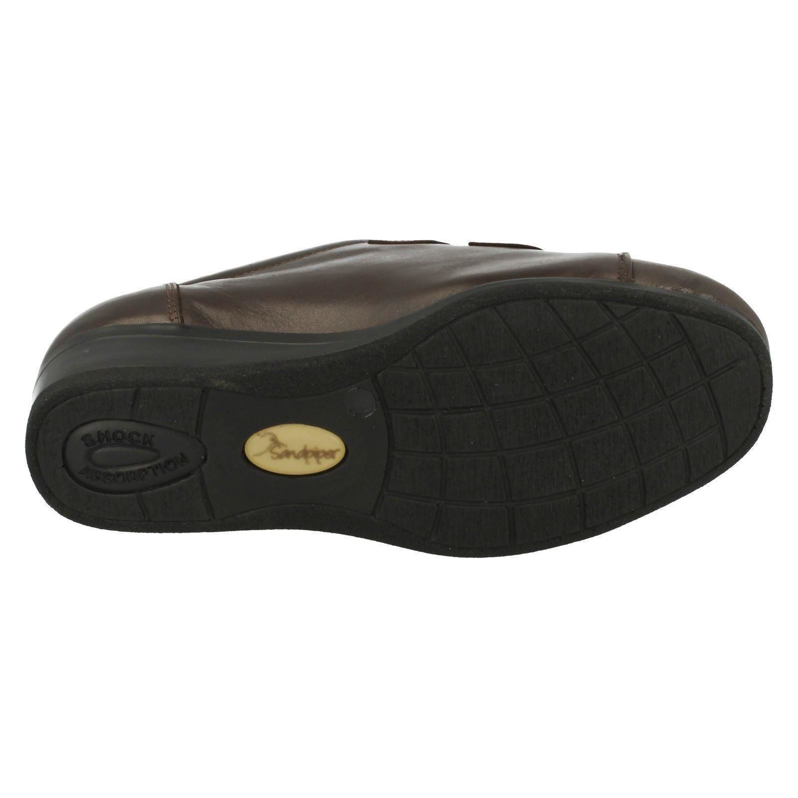 41 A 6.5 /& 8 Bécasseau Arten Femmes À Enfiler Beige//écorce Chaussures en Cuir UK5