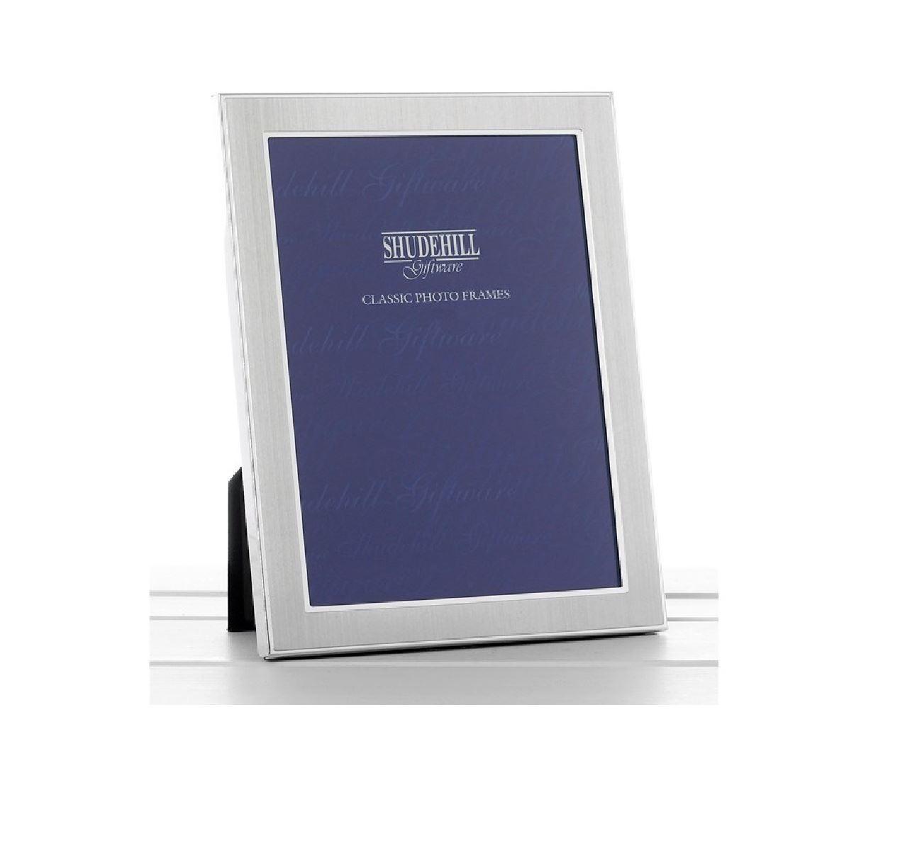 Liso plata satinada foto marco Shudehill Photo Frame 6 X 8   eBay