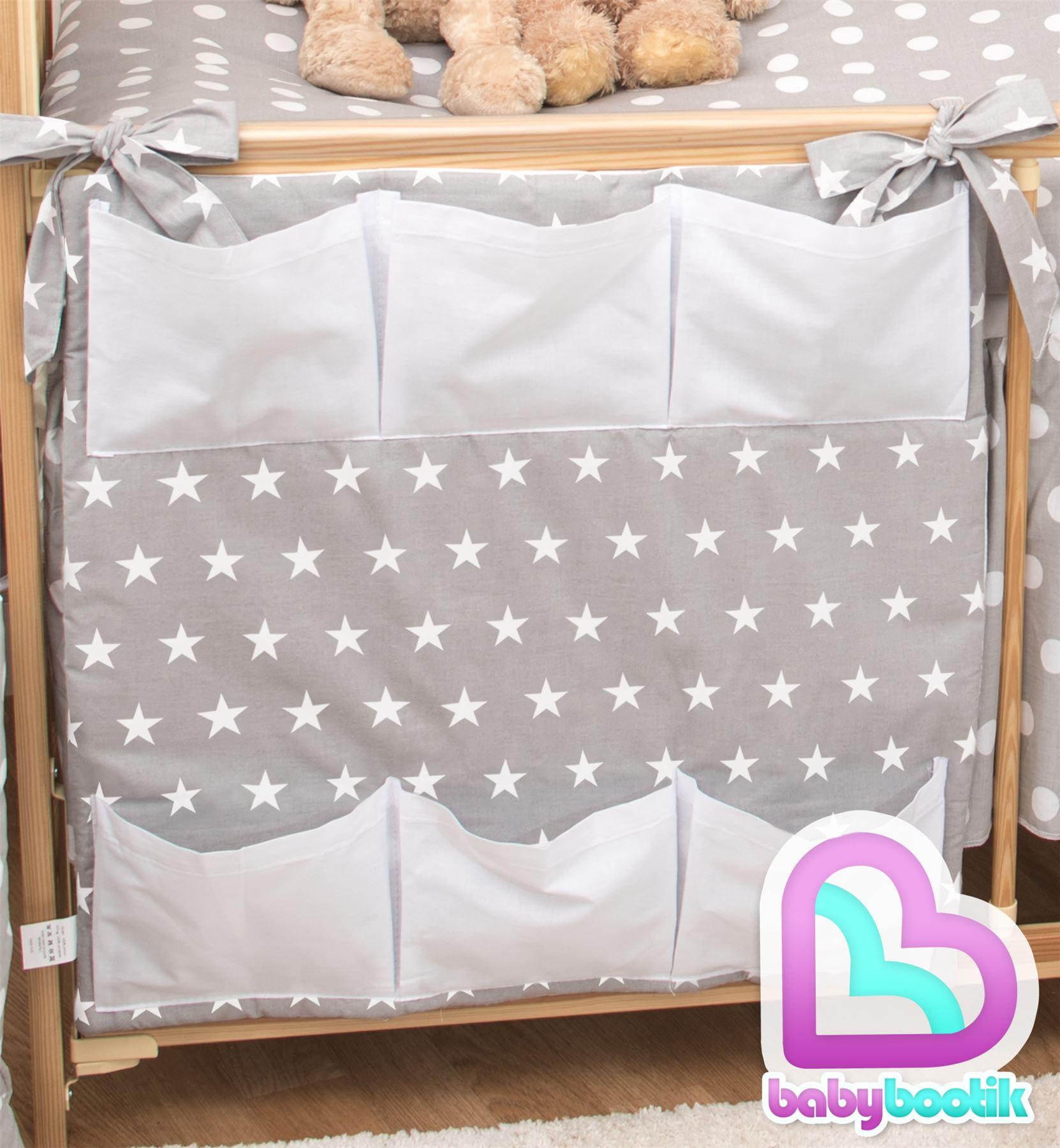 kinderzimmer baby krippe ordentlich organizer f r gitterbett kinderbett ebay. Black Bedroom Furniture Sets. Home Design Ideas