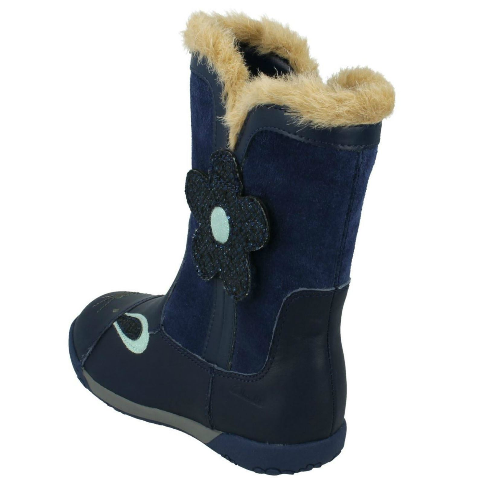 Clarks Girls Boots Nibbles Dot for sale