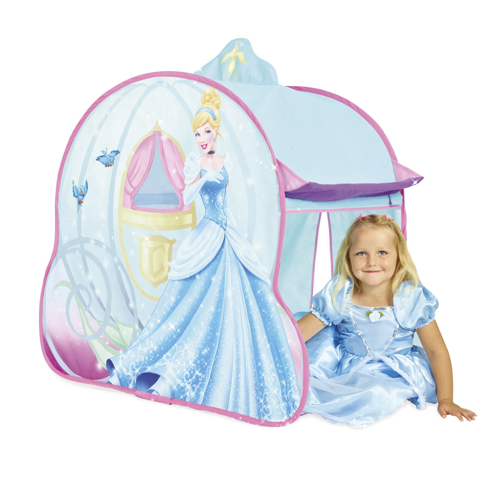 pop up spiel zelte kinder disney prinzessin eisk nigin autos minions ebay. Black Bedroom Furniture Sets. Home Design Ideas