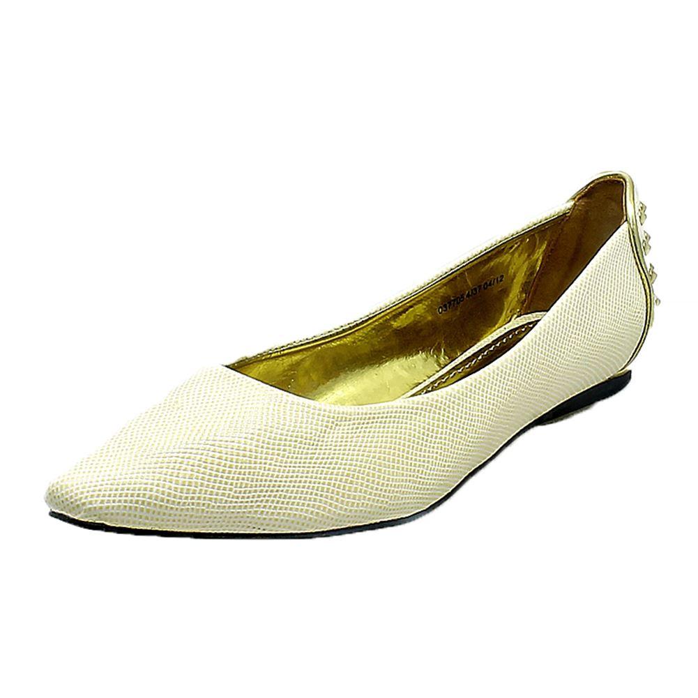de mujer Puntiagudos Zapato plano con tachuelas DETALLE EN LA ESPALDA