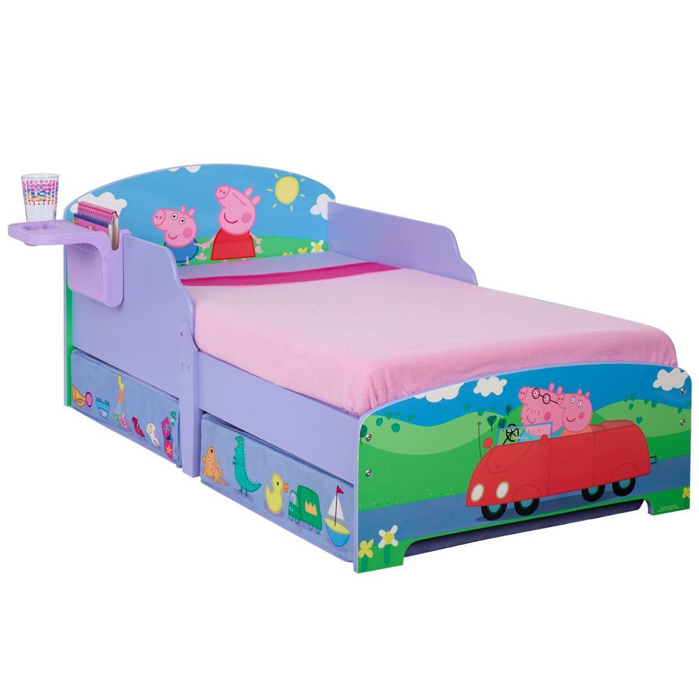Personnage disney junior b b lits avec rangement tag re option matelas ebay - Personnage disney bebe ...