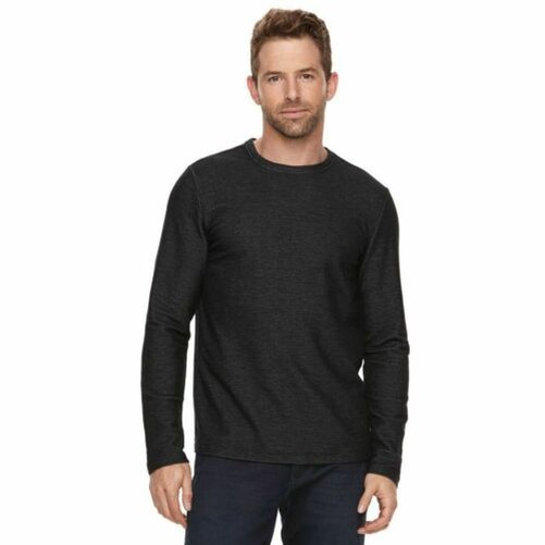 Marc-Anthony-Men-039-s-Long-Sleeve-Slim-Fit-French-Terry-Crew thumbnail 4
