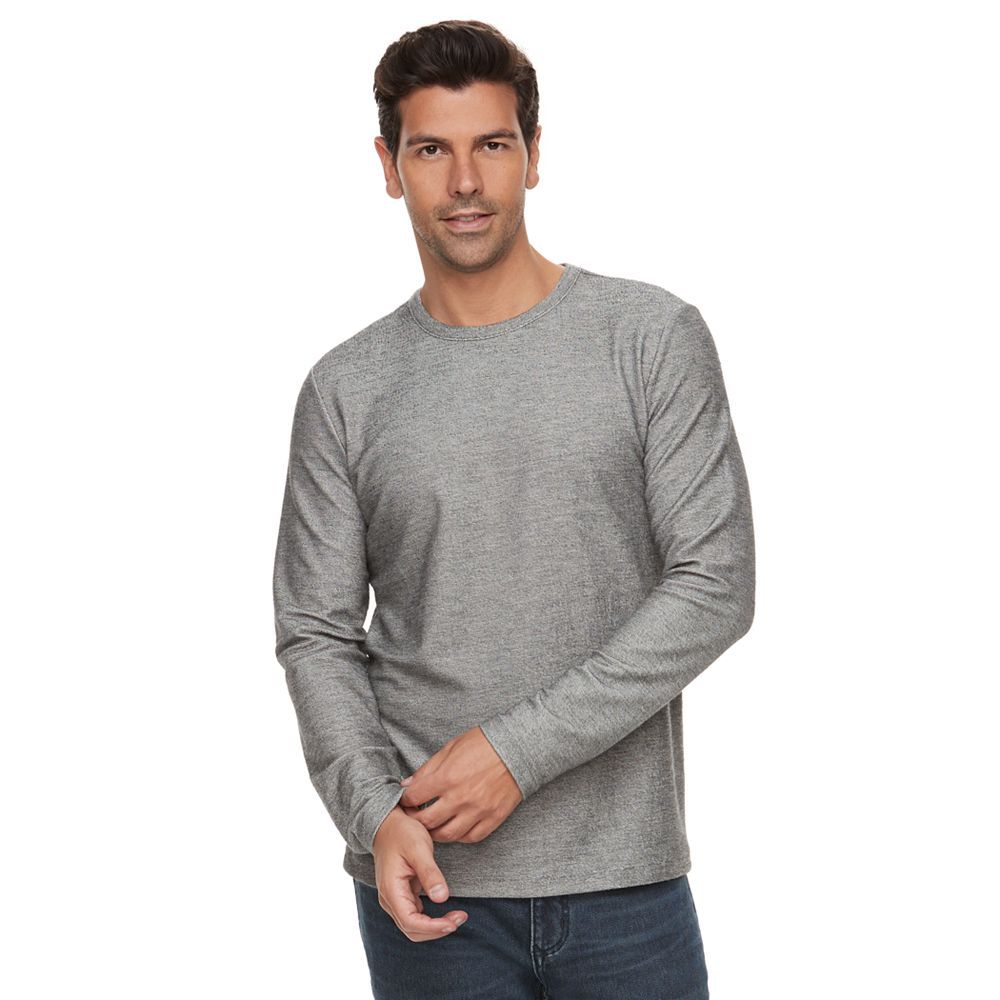 Marc-Anthony-Men-039-s-Long-Sleeve-Slim-Fit-French-Terry-Crew thumbnail 5