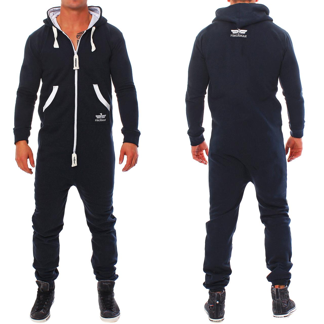 finchman men's jumpsuit jogger jogging suit tracksuit