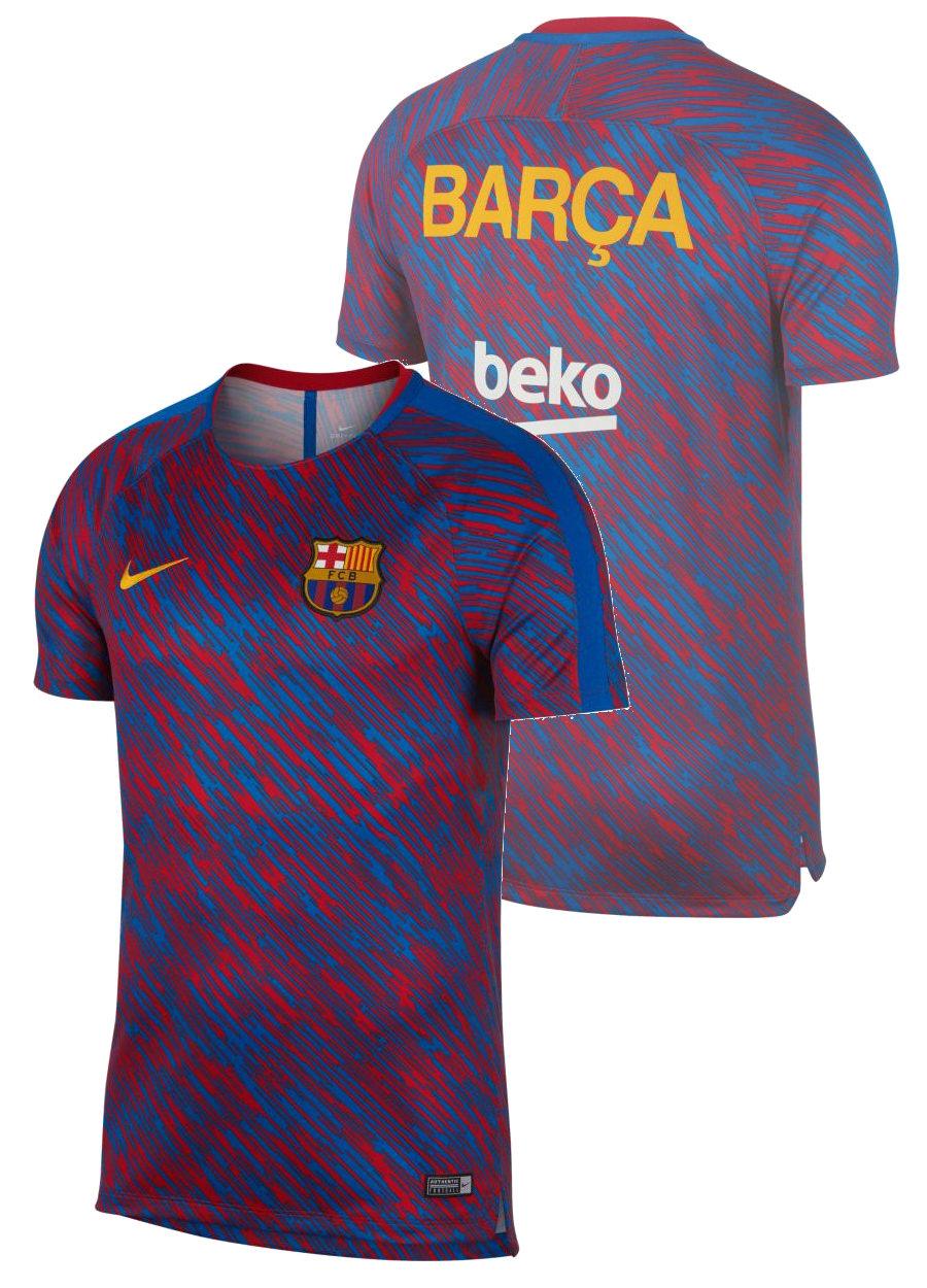 Barcelona-Nike-Camiseta-Entrenamiento-Training-Shirt-Seco-equipo-Pre-matc