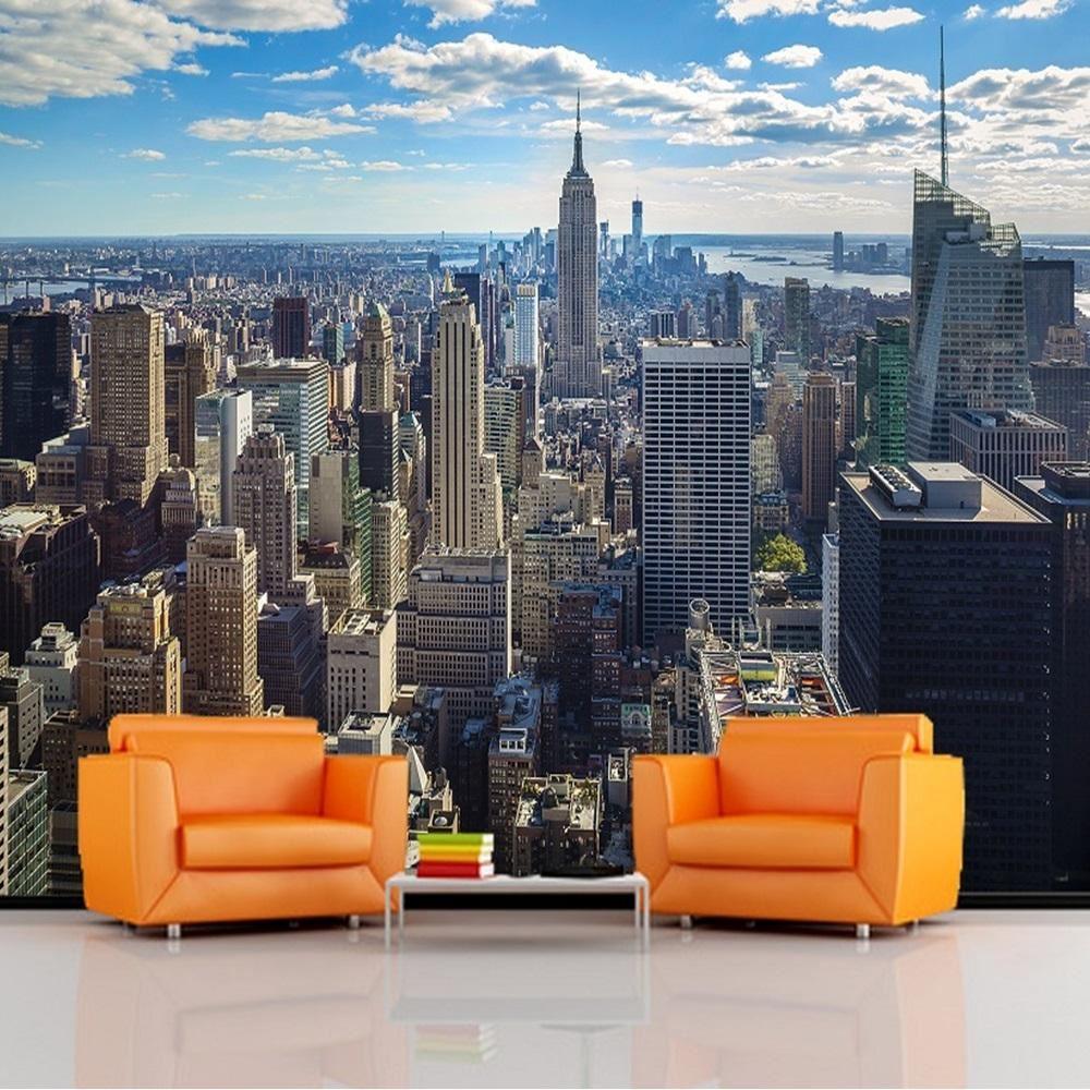 papier peint photo murale g ant d cor affiche vivant assis room chambre ebay. Black Bedroom Furniture Sets. Home Design Ideas