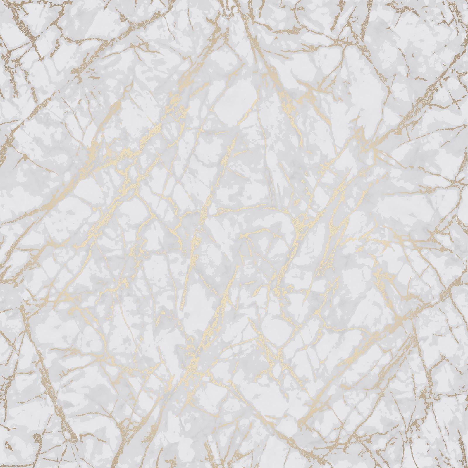fine decor metallic geometric plain marble wallpaper rose gold copper silver ebay. Black Bedroom Furniture Sets. Home Design Ideas
