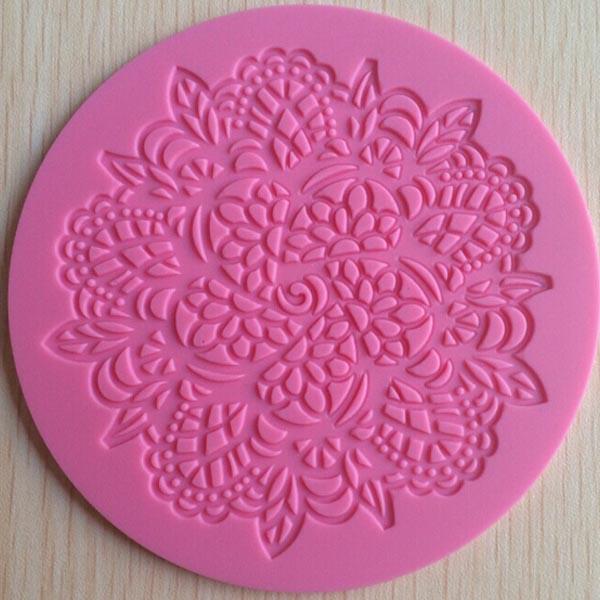 Silicone-lacet-Moule-Fondant-Embosseur-gateau-Tapis-Cuisson-Chocolat-Decoration