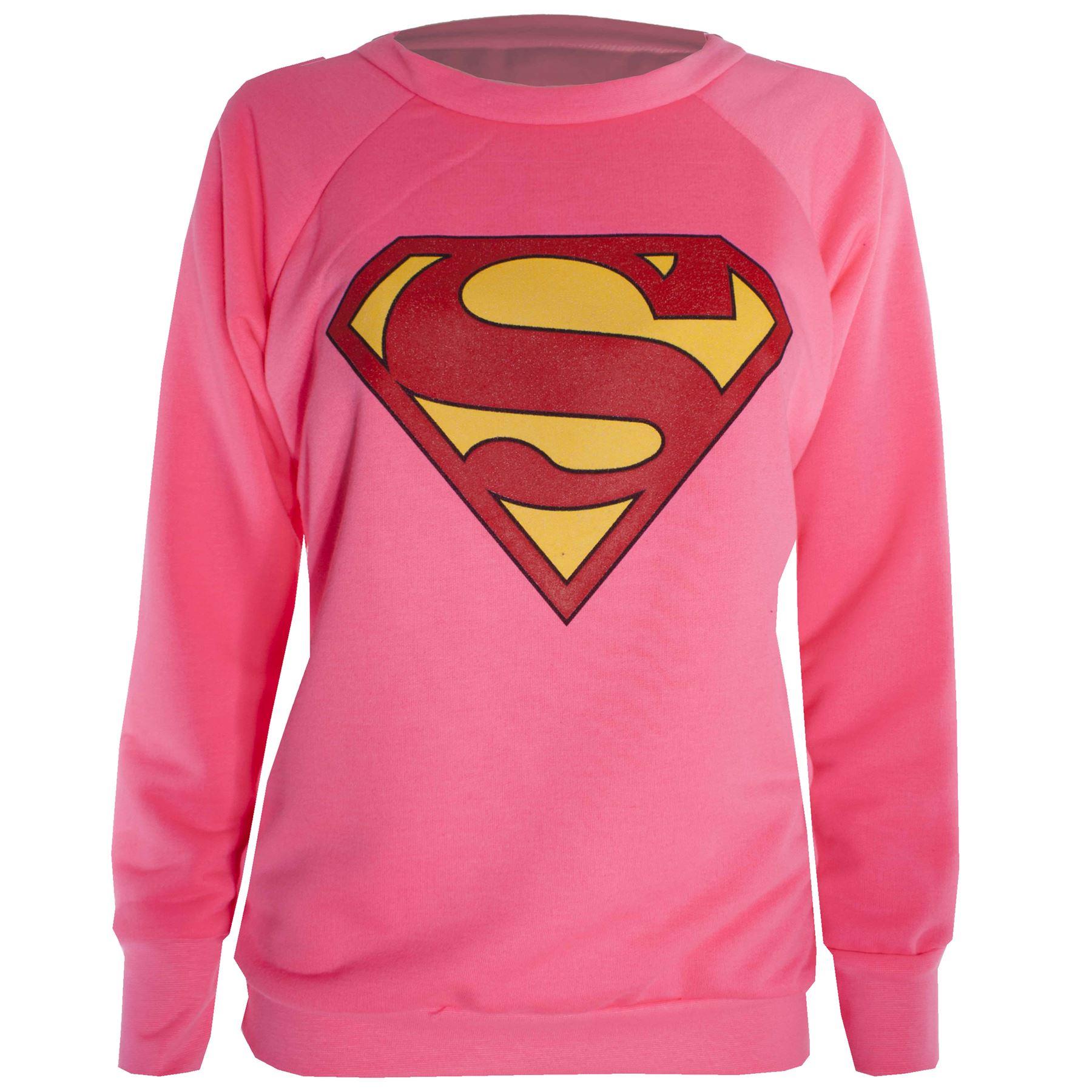 femmes casquette manches longues batman superman t shirt. Black Bedroom Furniture Sets. Home Design Ideas