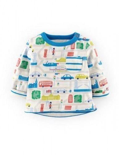 Mini-Baby-Boden-garcons-impression-reversible-haut-t-shirt-chemise-nouveaux-ages