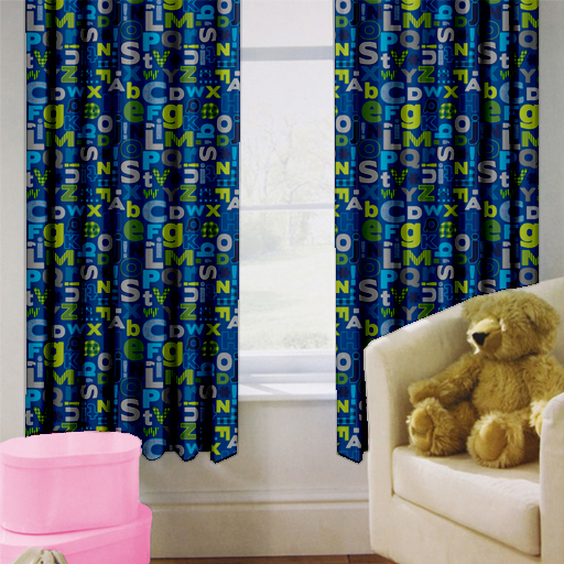 eco friendly children sale for product kids curtains hot aktdesc printed