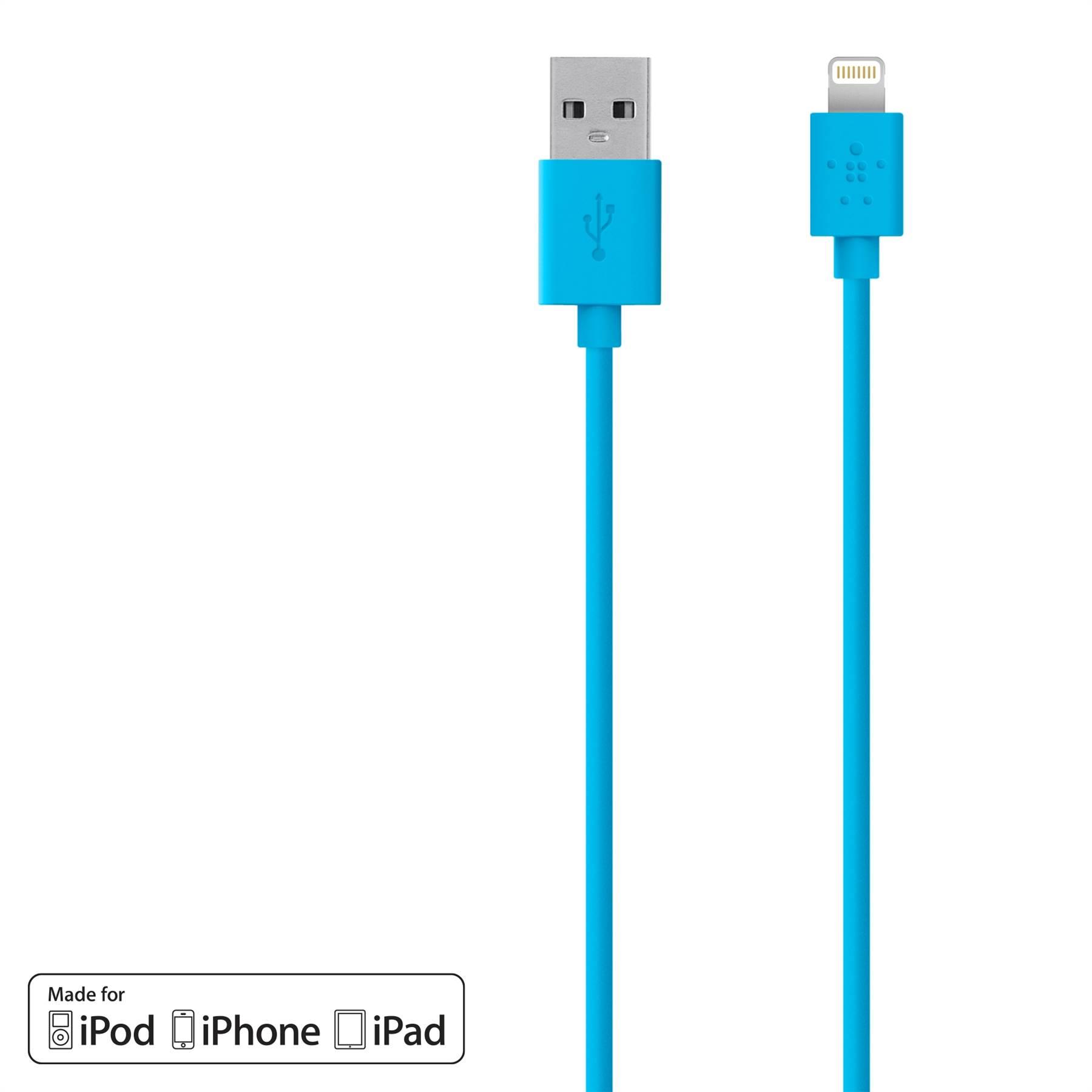 Belkin-Synchronisation-De-Charge-USB-1-2-m-cable-pou-iPhone-X-8-8-Plus-7-6-Plus