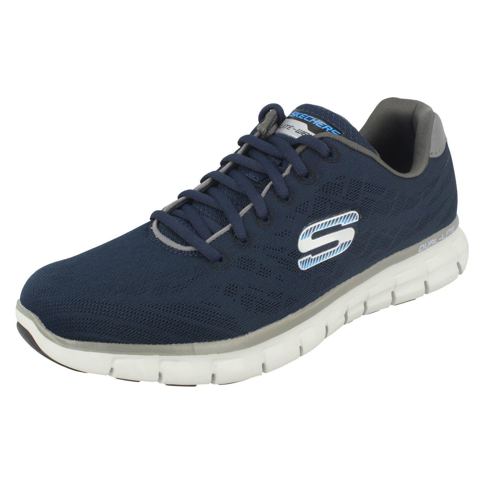 SKECHERS D'Lux Walker scarpa sportiva navygrigio