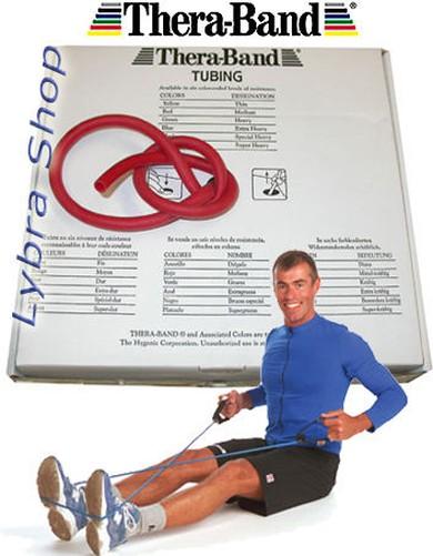 Thera-Band-TUBO-ELASTICO-1-5-m-ELEGIR-LA-RESISTENCIA-Tuberia-Tubular
