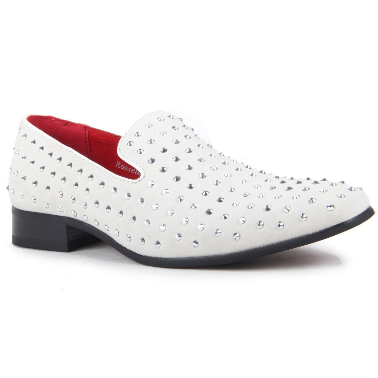 Herren Gentleman Kunstwildleder Kunstwildleder Gentleman ohne Bügel Schuhe mit Nieten Leder gefüttert ec6e69