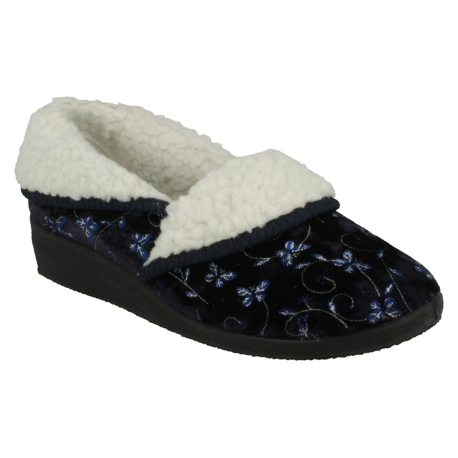 Ladies-Four-Seasons-House-Slippers-Edith thumbnail 13