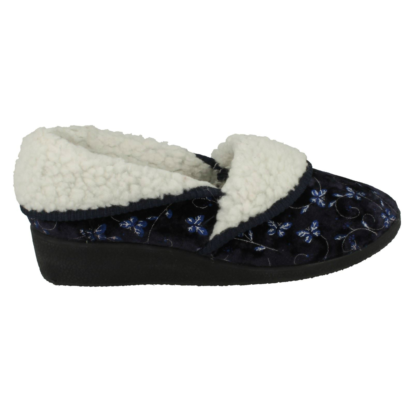Ladies-Four-Seasons-House-Slippers-Edith thumbnail 15