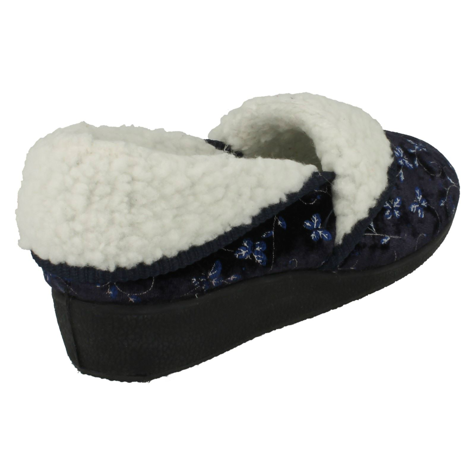 Ladies-Four-Seasons-House-Slippers-Edith thumbnail 16