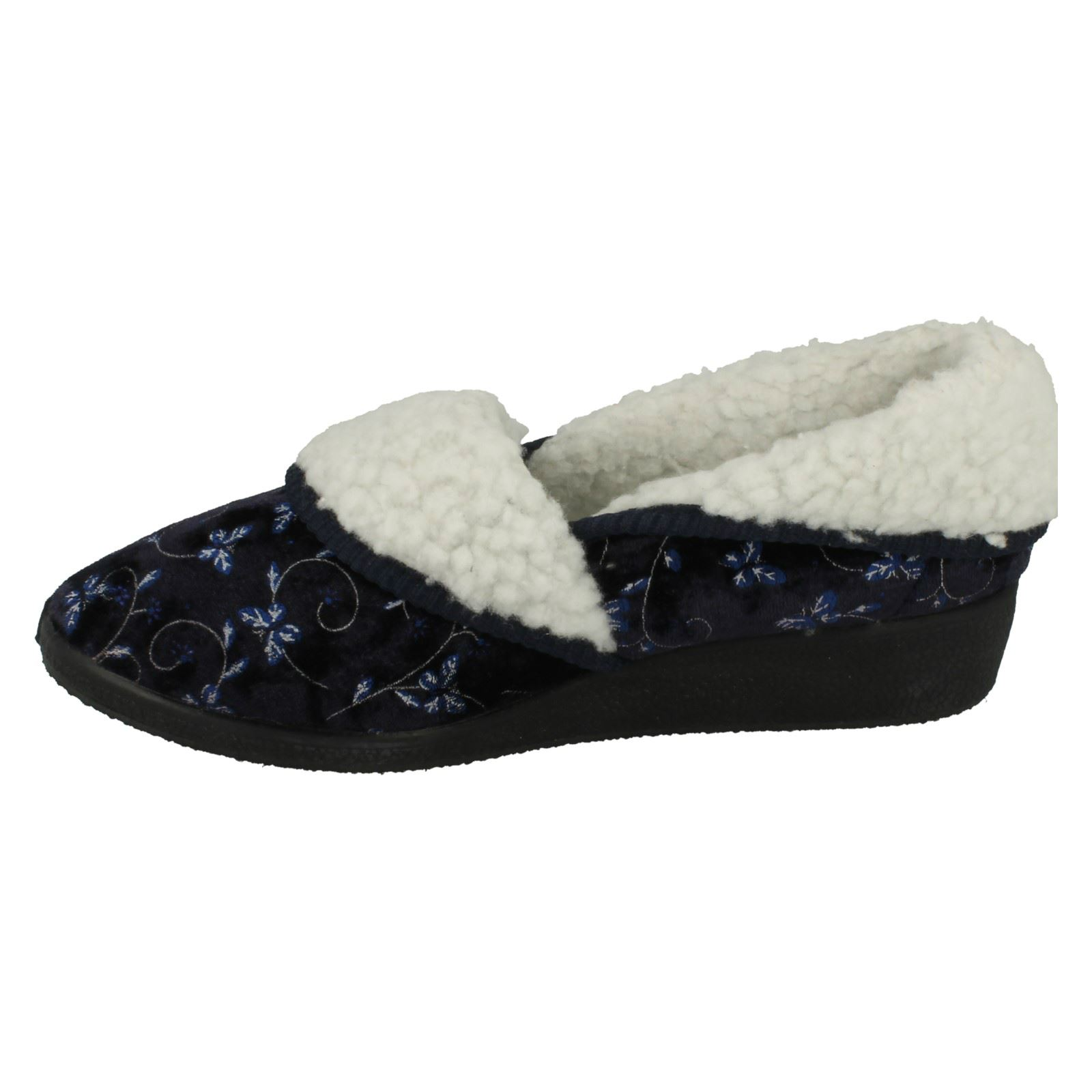 Ladies-Four-Seasons-House-Slippers-Edith thumbnail 14